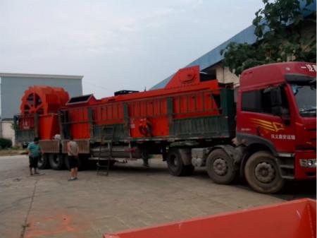 发往江西砂石生产线案例图片