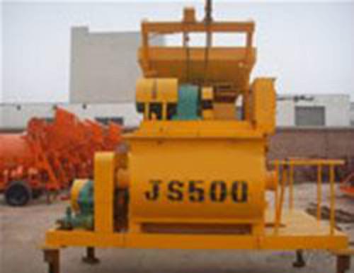 JS500型混凝土搅拌机